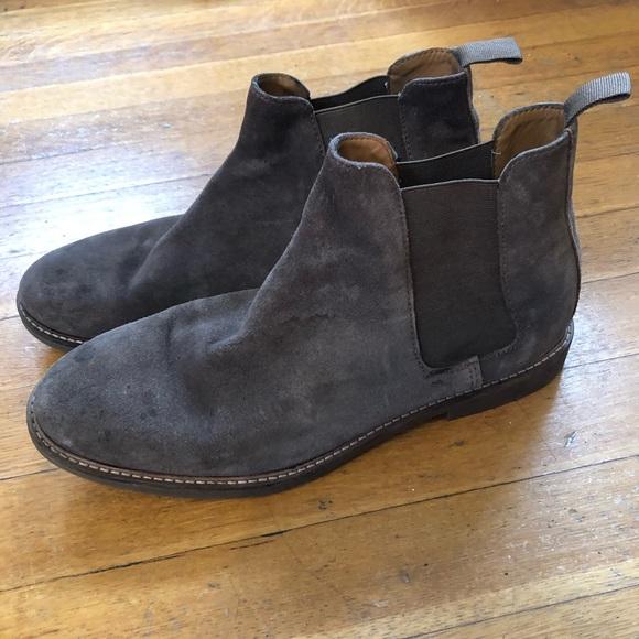 d004d704b24 🆕 Men's Taupe Suede Steve Madden Boot